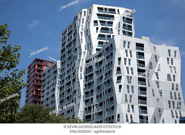 Apartment Block, Rotterdam, Holland, Netherlands