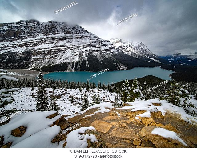 Canadian Rockies. Peyto Lake