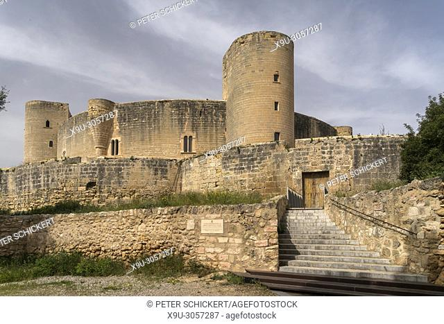 fortress Bellver Castle, Island capital Palma de Mallorca, Majorca, Balearic Islands, Spain,