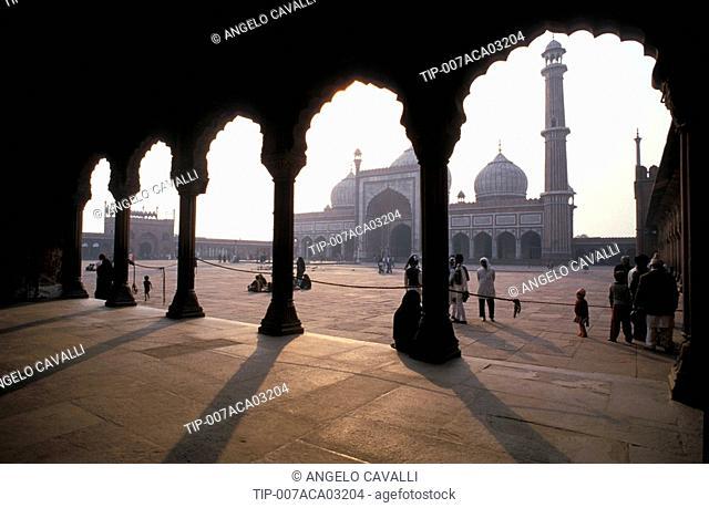 India, Jama Masjid, Main mosque of New Delhi