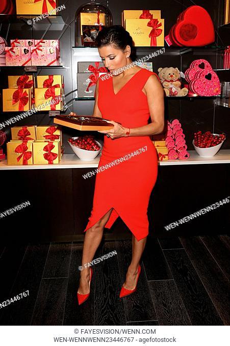 Eva Longoria Celebrates Valentine's Day With Godiva Featuring: Eva Longoria Where: Glendale, California, United States When: 03 Feb 2016 Credit:...