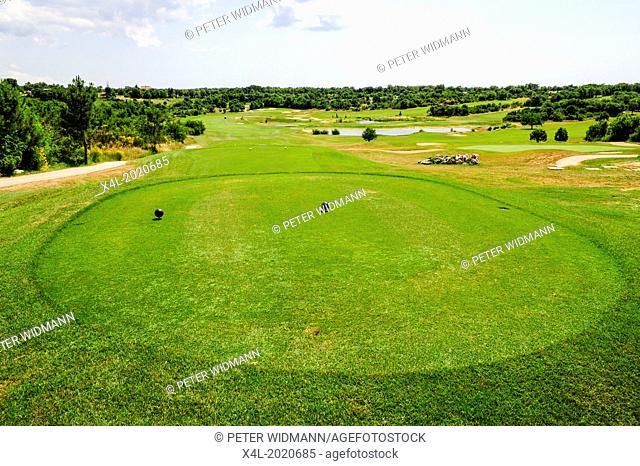 Istria, Croatia, Katoro, golf course, Umag