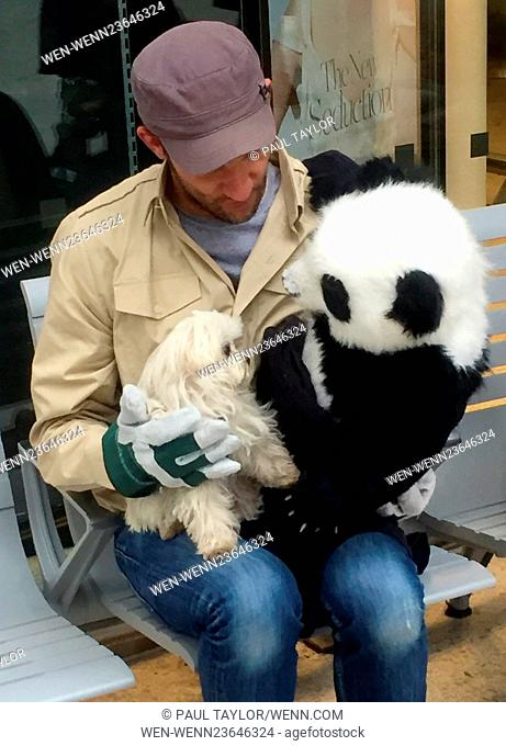 Chessington World of Adventures bring lifelike animatronic Panda's to Waterloo Station in order to try and help promote 'Pandamonium' - the theme parks new...