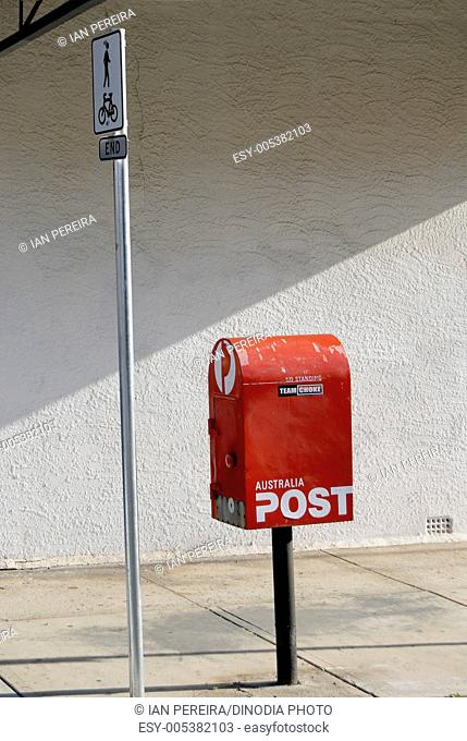 Post box ; Sydney ; Australia