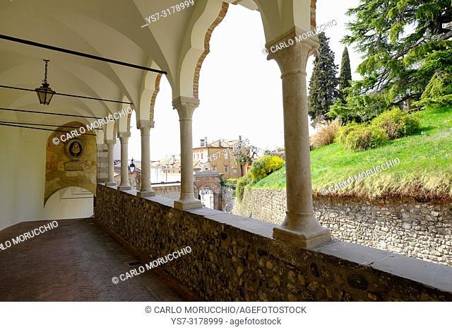 Porticato del Lippomano, Udine, Friuli Venezia Giulia, Italy, Europe