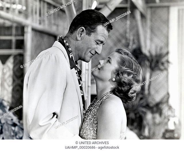 Marihuana, (BIG JIM McLAIN) USA 1952 s/w, Regie: Edward Ludwig, JOHN WAYNE, NANCY OLSON