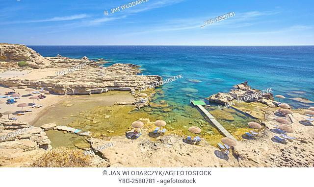 Kalithea Bay, Rhodes Island, Greece