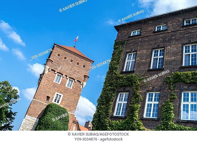 Thieves' Tower, Wawel Royal Castle, Krakow, Poland