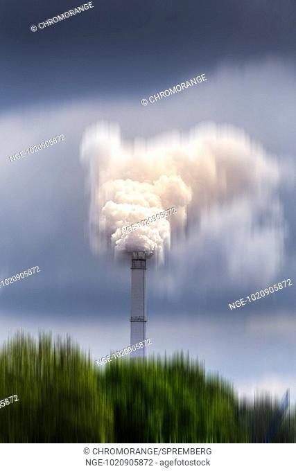 smoky chimney