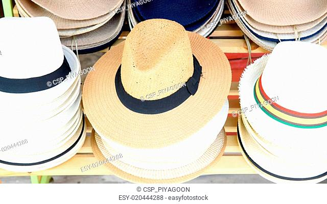 hats for lady in the market