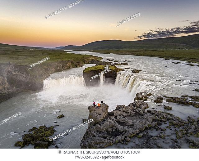 Godafoss waterfalls, Iceland