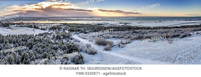 Winter, Reykjavik, Iceland