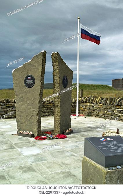 Lyness HOY ORKNEY Arctic convoy world war ii memorial russian