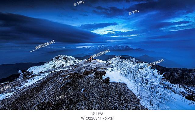 Dawn of Niubei Mountain