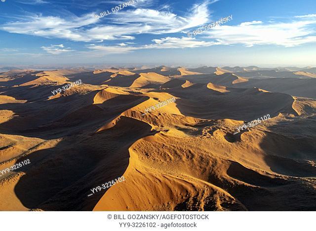 Aerial View of Namib-Naukluft National Park, Namibia, Africa