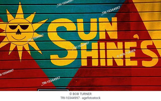 Nevis St Kitts Pinney's Beach Beach Hut sun Shines