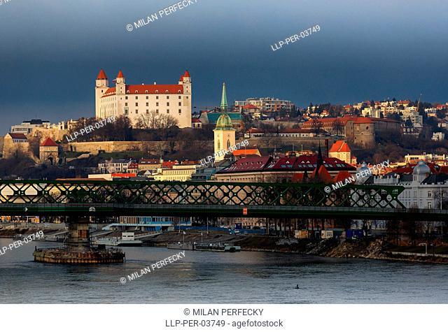 Castle, City Bratislava, Old town - Slovakia