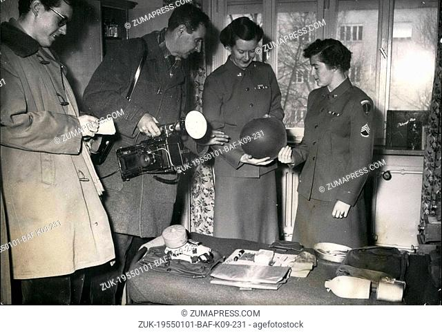 Jan. 01, 1955 - The first time in the American history: It happened an inspection of the army at which the press was allowed to attend