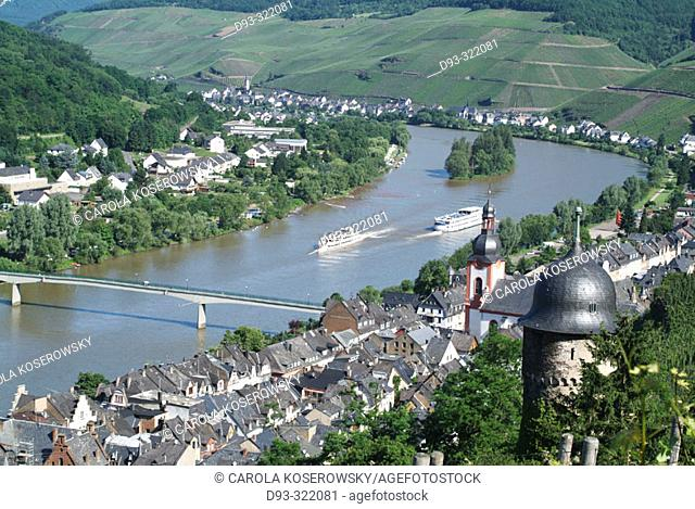 Zell. Moselle River. Rhineland-Pallatinate. Germany