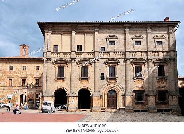 Montepulciano - Palazzo Tarugi, attributed to Antonio da Sangallo the Elder or Jacopo Barozzi da Vignola