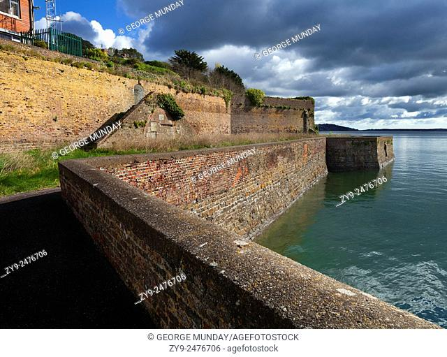18th Century Cove Fort,. Garrison and Gun Emplacement to Protect Cork Harbour,. Cobh, County Cork, Ireland