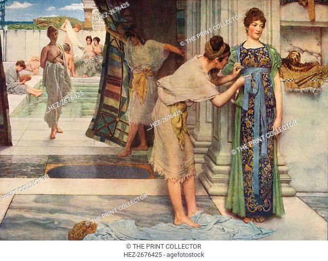 'The Frigidarium', 1890, (c1915). Artist: Sir Lawrence Alma-Tadema