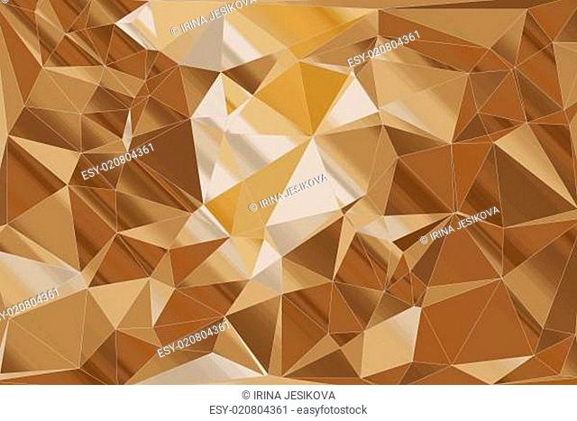 Abstract background, geometric triangle