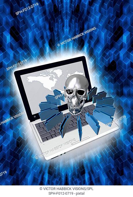Data protection, illustration