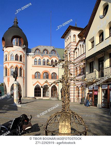 Slovakia, Komarno, Europe Square, Nadvorie Evropy, Európa Udvar