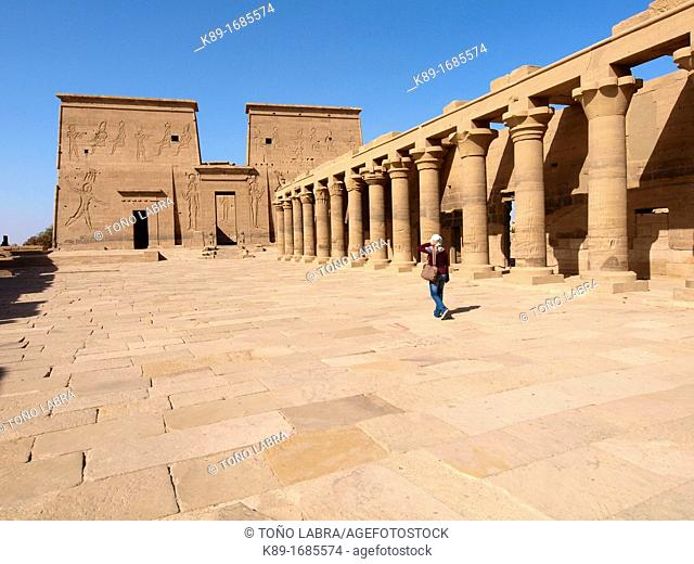 Philae, Isis Temple, Aswan, Upper Egypt