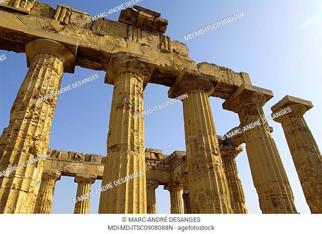 Selinunte - Greek archeological site - Temple of Hera