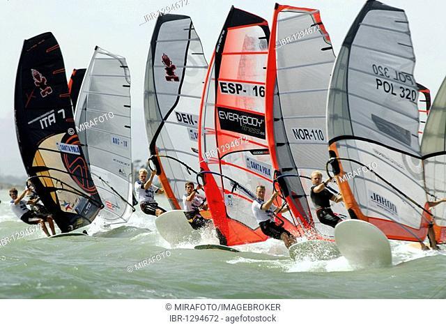 Formula Windsurfing World Championship in Santa Pola, Spain, Europe