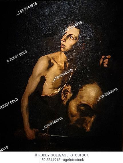 'David and Goliath', 1620, Jusepe de Ribera (1591-1652)