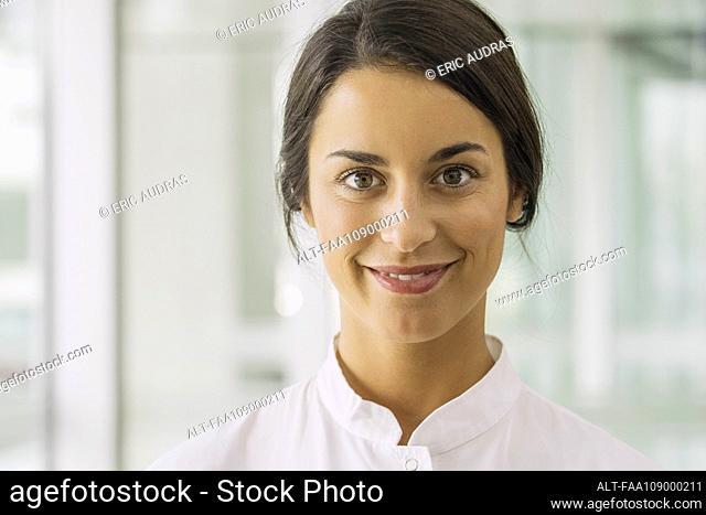Healthcare professional, portrait