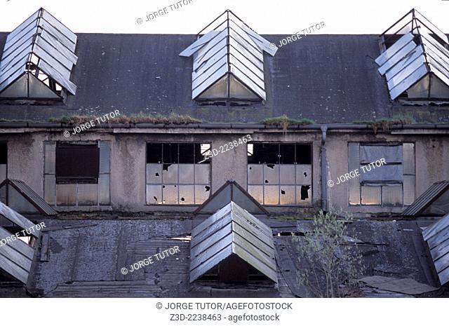 Abandoned building in Freising, Bayern, Germany