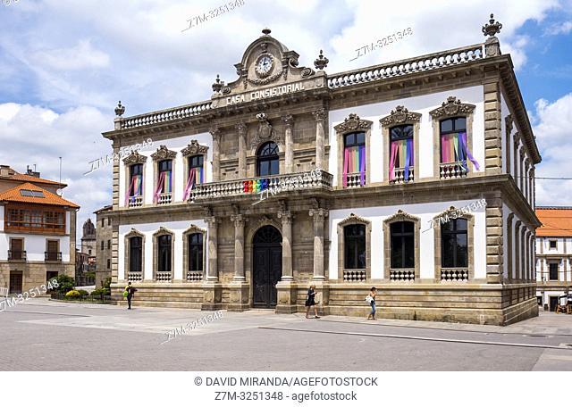 Casa consistorial. Pontevedra. Galicia. España