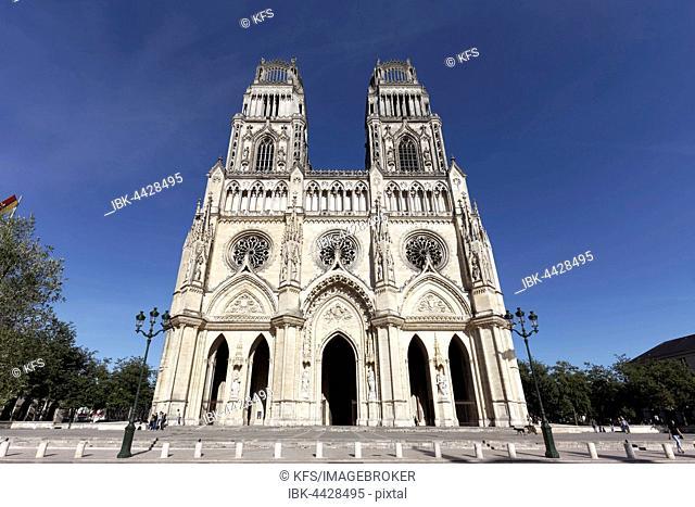 Holy Cross Cathedral, Cathédrale Sainte-Croix, Orléans, Centre-Val de Loire, France