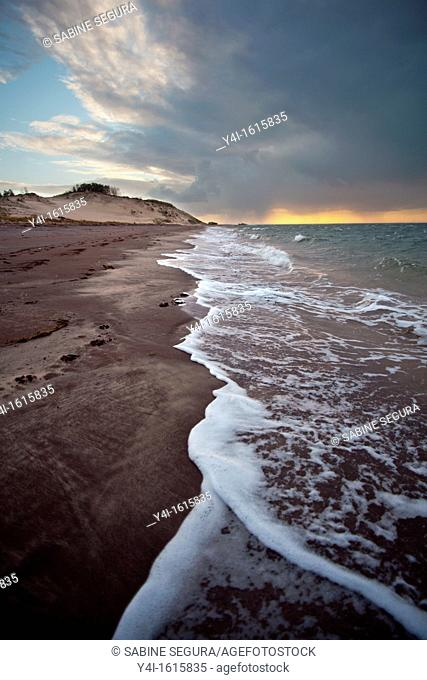 Atlantic Beach  La Teste de Buch  Gironde  Aquitaine  France  Europe