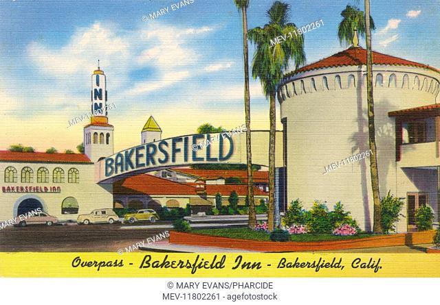 Bakersfield Inn, luxury hotel in Bakersfield, Kern County, USA