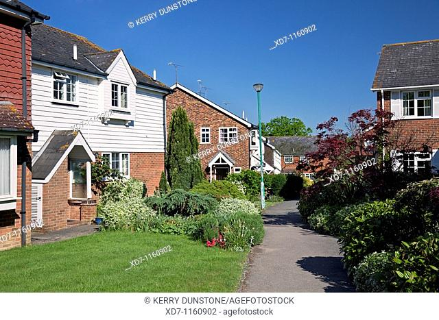 England Kent Tenterden Rogersmead Housing Estate