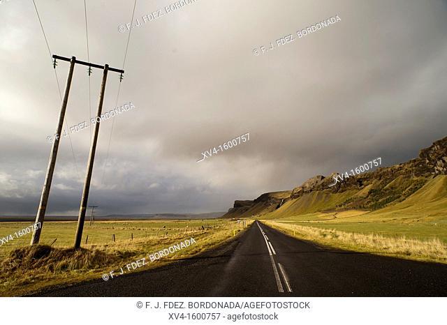 Kalfafell  Icelandic landscape  Iceland