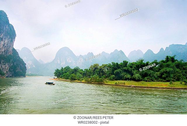 Karst landscape on the Li River