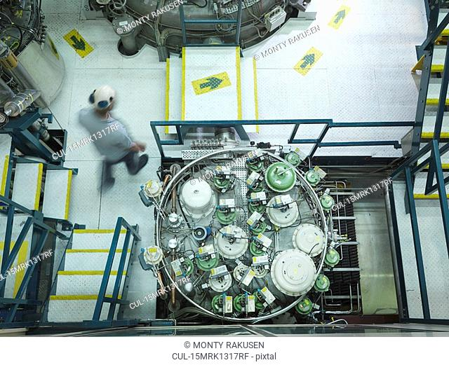 Fusion Reactor Scientist At Work