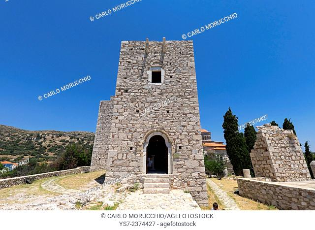 Castle of Lykourgos Logothetis, Pythagorio, Samos island, North Aegean islands, Greece, Europe