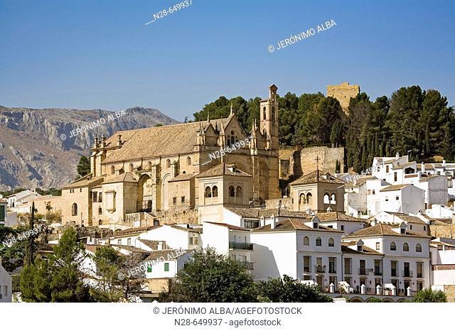 'Colegiata Santa Maria' church at Antequera. Málaga province. Andalucia. Spain
