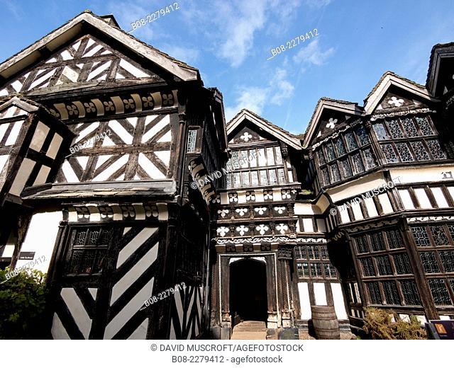Little Moreton Hall,Cheshire, UK