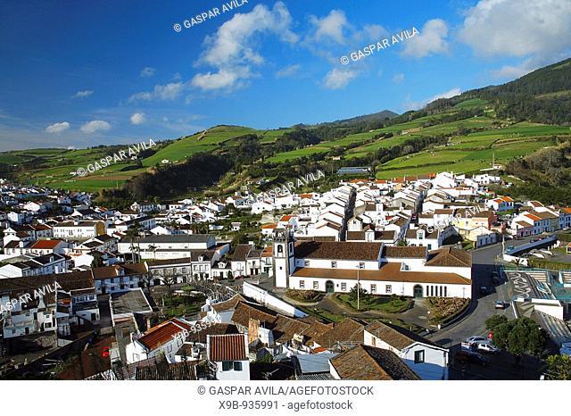 Parcial view of village of Agua de Pau  Sao Miguel island, Azores