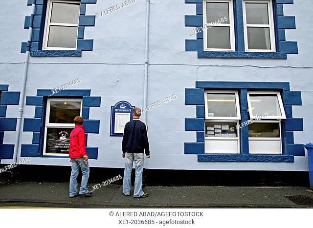 Restaurant, Portree, Isle of Skye, Highland, Scotland, UK