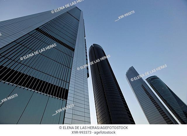 Cuatro Torres Business Area. CTBA. Madrid. Spain