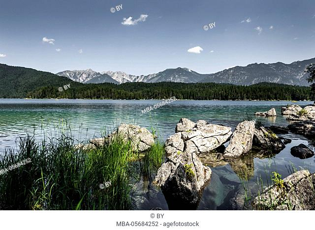 Lakeside Eibsee